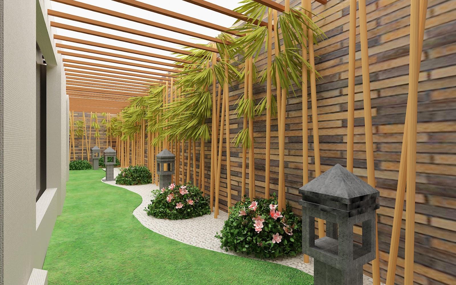 Inspirasi Taman Minimalis Desain Modern Untuk Taman Mungil