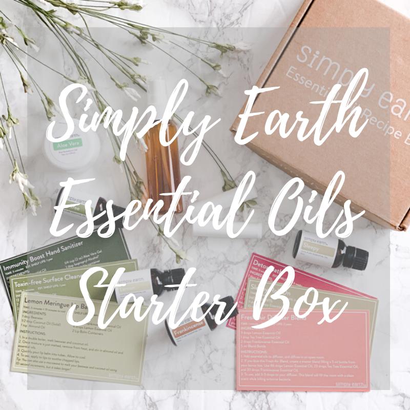 simply earth essential oils recipe box