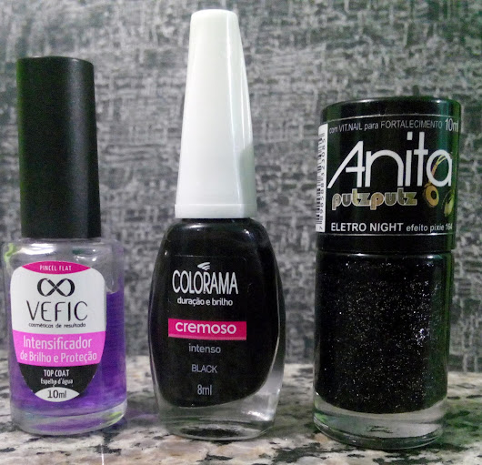 Unhas: Black Night