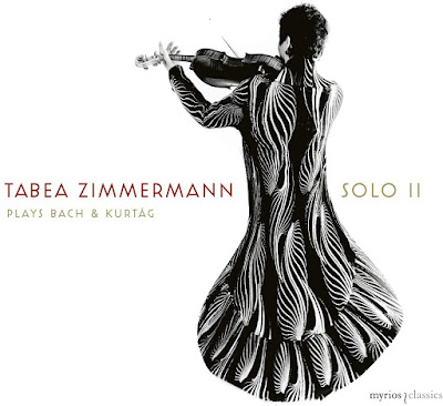 Solo II - Bach Unaccompanied cello suites, Kurtag Signs, Games and Messages; Tabea Zimmerman; Myrios Classics