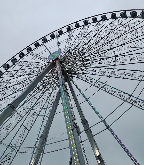 The Giant Wheel at Hyde Park Winter Wonderland, London
