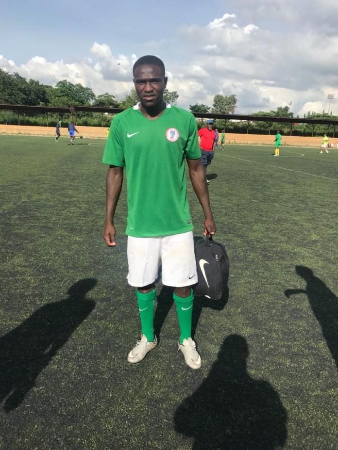 Bravo Nets Winner For Nigeria U20 In A Friendly Game against Plateau United