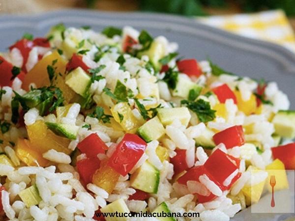 arroz-con-vegetales