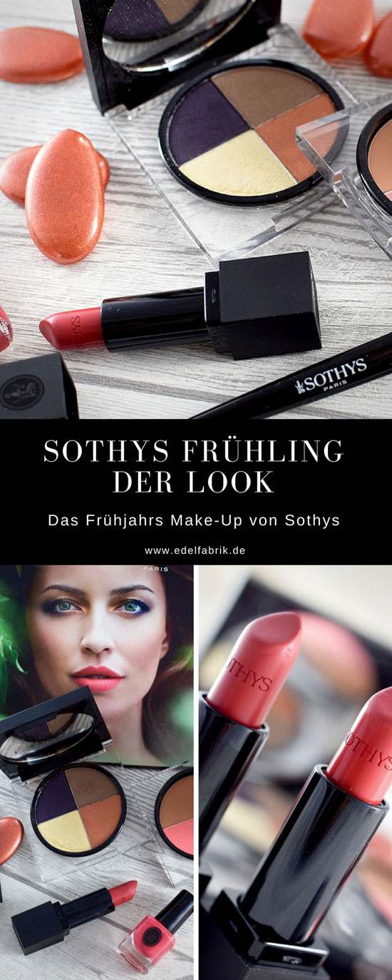 Sothys Make Up Frühjahr Sommer Look 2018, Les Jardins Sothys
