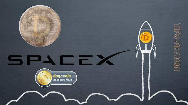 شركة Spacex الفضائية تقبل تمويل مهمة الى القمر بعملة الدوجكوين Dogecoin الرقمية
