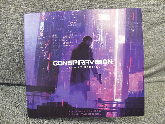 Photo of CD album cover for Conspiravision: Deus Ex Remixed