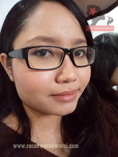 FOTD Memakai Lipstik Wardah