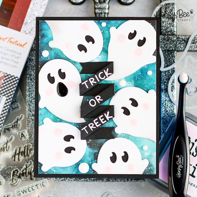 Trick Or Treek | Honey Bee Stamps by ilovedoingallthingscrafty.com