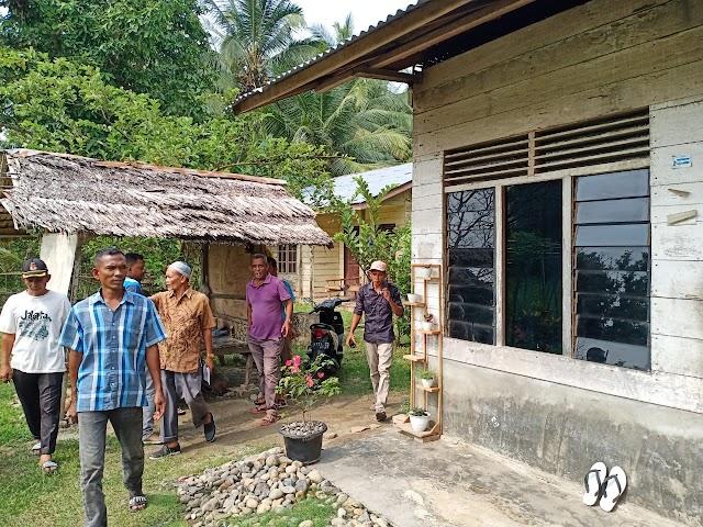 Pemerintah Gampong Cot Rabo Baroh Anggarkan 150 Juta Untuk Pembangunan Rumah Warga Kurang Mampu