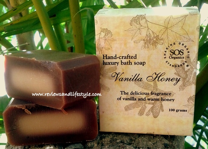 SOS Organics Vanilla Honey Handmade Soap Review