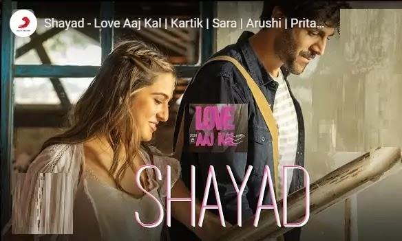कहीं पे गुम ज्यादा शायद Shayad Lyrics In Hindi- Arijit Singh-Love Aaj Kal