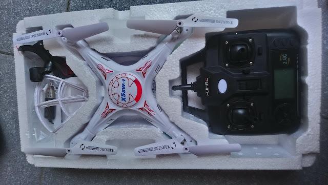 Máy bay điều khiển từ xa flycam X5c-1 bản 2 X5SW