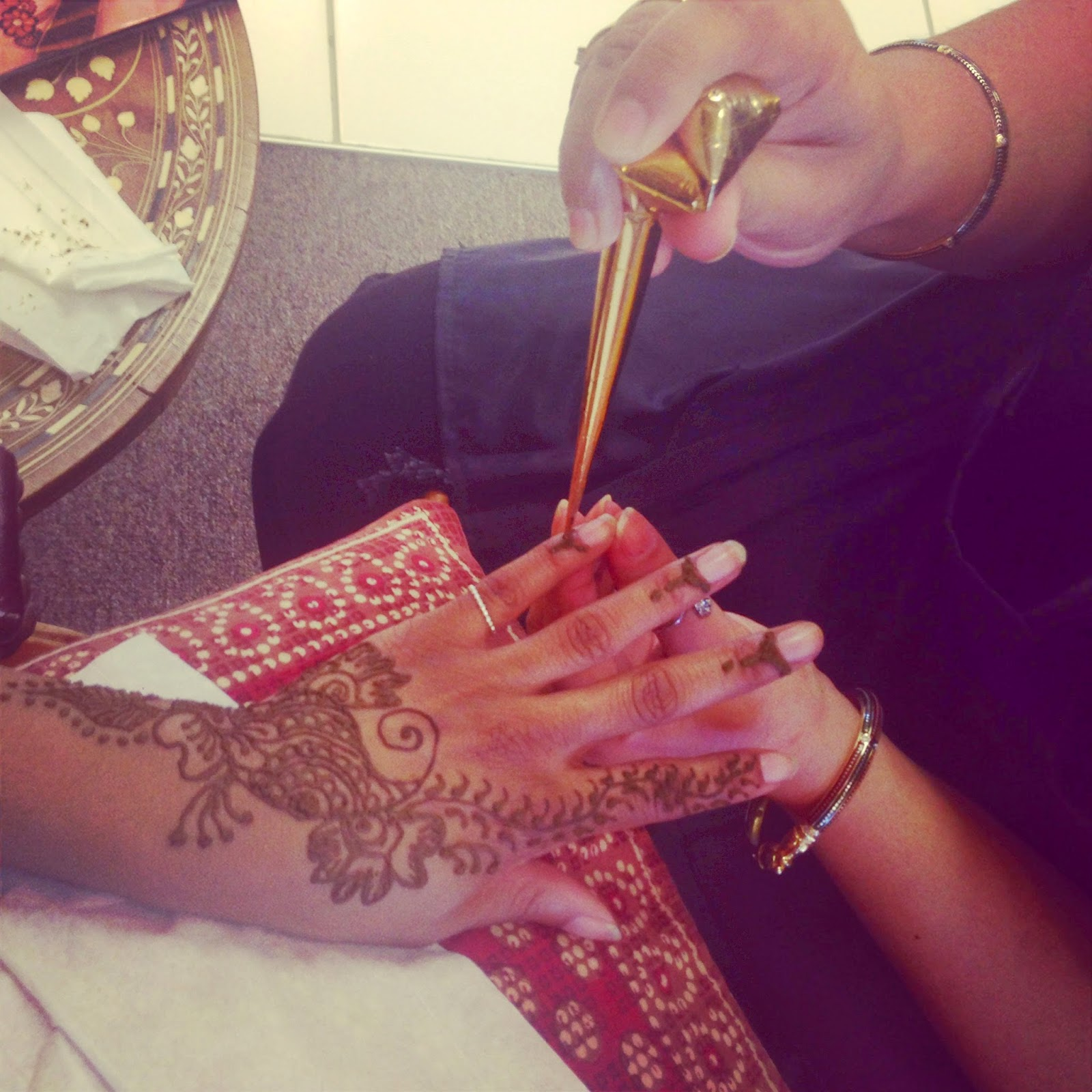 Inspire the Tribe : Empty Suitcases and The Henna Hand Tat