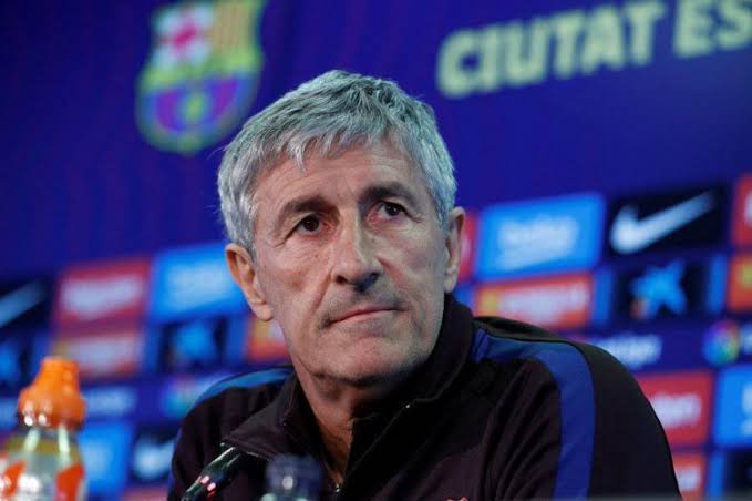 Setien admits Barcelona could go with 4-4-2 into Bayern tie