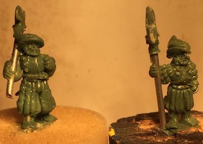 Landsknecht Hellebardiere Sculpts by Warmonger Miniatures picture 3
