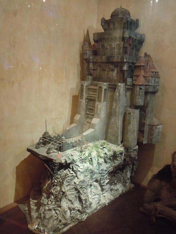 Bram Stokers Dracula castle miniature