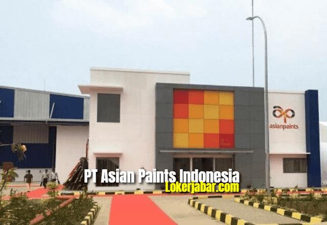 Lowongan Kerja PT Asian Paints Indonesia 2021