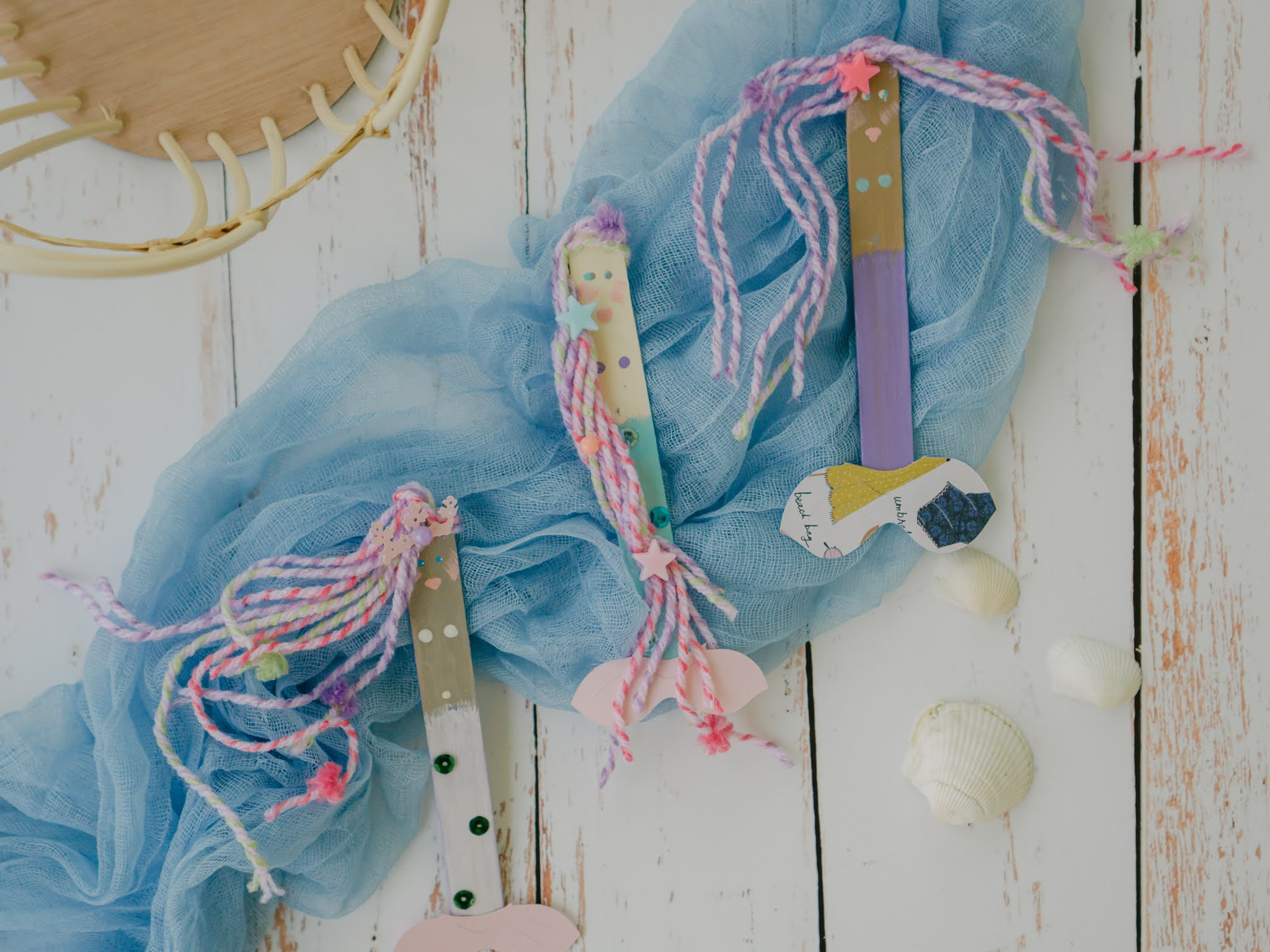 summertime crafts with popsicle sticks