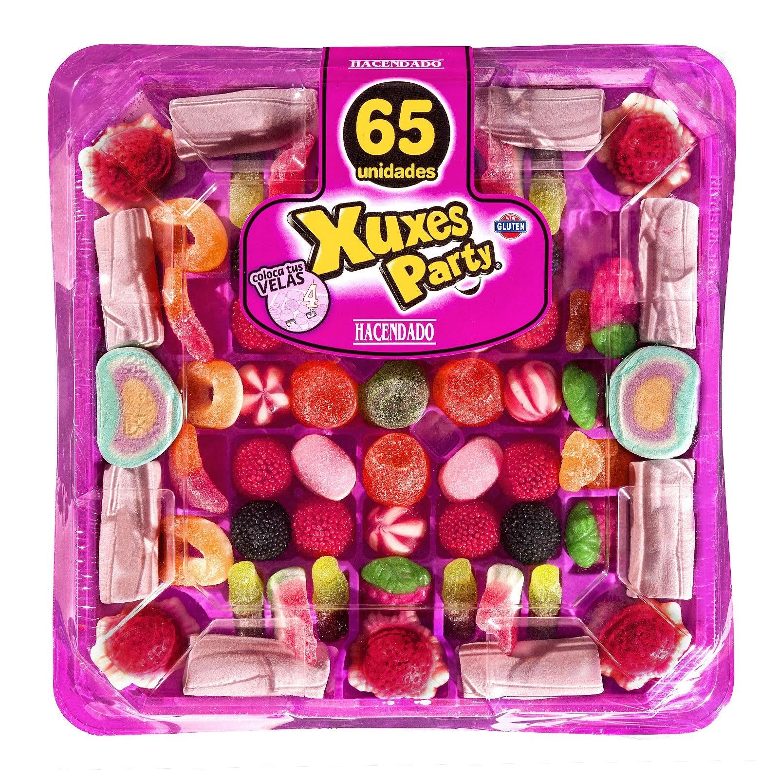 Tarta de golosinas Xuxes Party Hacendado