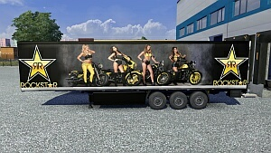Rockstar Energy Drink trailer