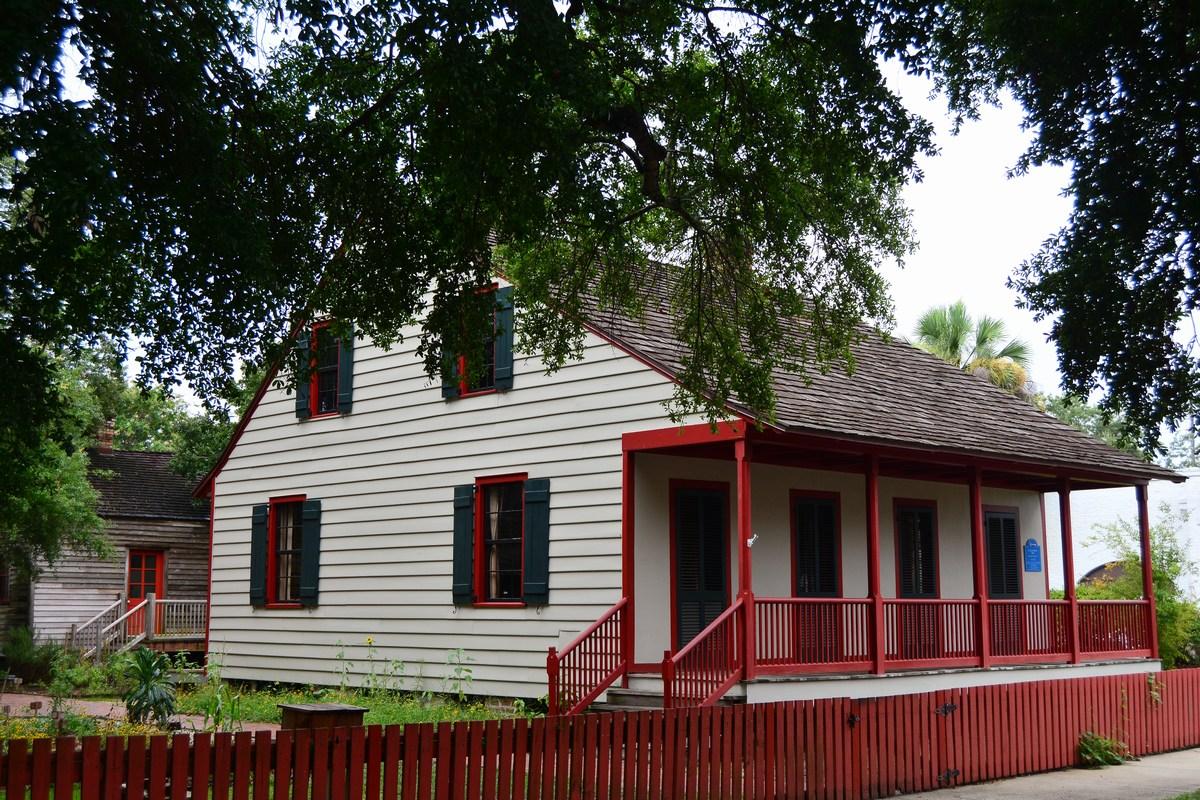 La maison Lavalle, 1805 Pensacola