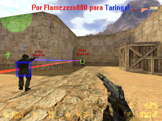 Counter Strike 1.6 Aim Hack Aimbot No Recoil WallHack and SpeedHack