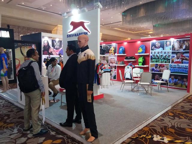 SHIV-NARESH SPORTS - India Licensing Expo at Sahara Star, Mumbai