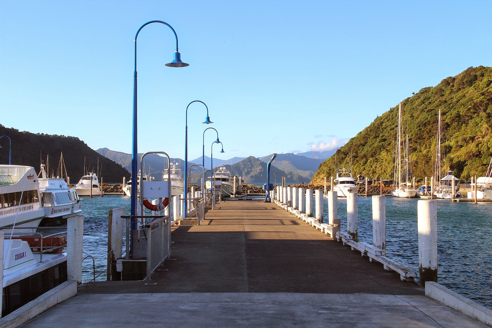 Picton Harbour New Zealand