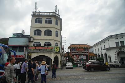 Chinese Street , Kuching, Sarawak, Malaysia