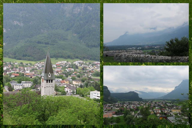 Zurich to Liechtenstein day trip: Views of Balzers, Liechtenstein