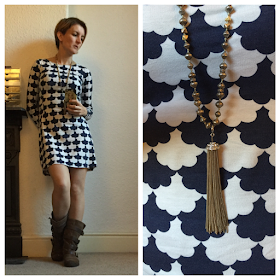 Boden Mia Tunic, Marks and Spencer Boots