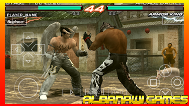 تحميل لعبة Tekken 6 لاجهزة psp ومحاكي ppssppمن الميديا فاير