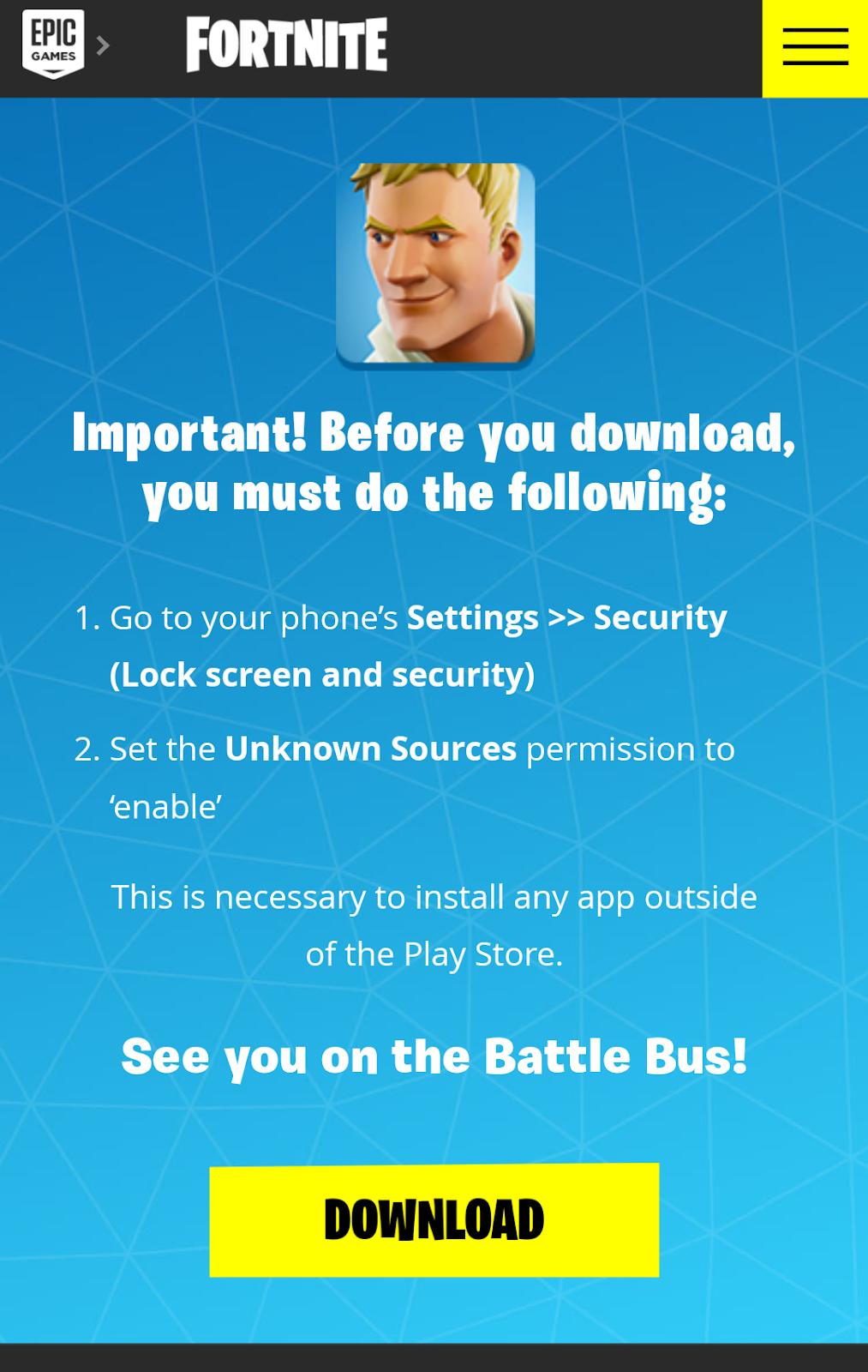 Cara Membuka dan Memainkan Game Fortnite di Android - Duosia