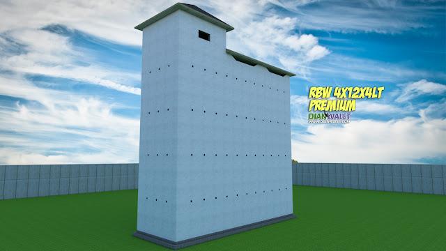 Desain Rumah Burung Walet 4X12 4 Lantai Rumah Monyet