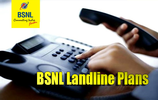 BSNL revised General Landline Plans with effect from 1st December 2018 on PAN India basis