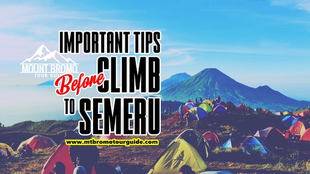 Important tips before climb to Semeru volcano summit