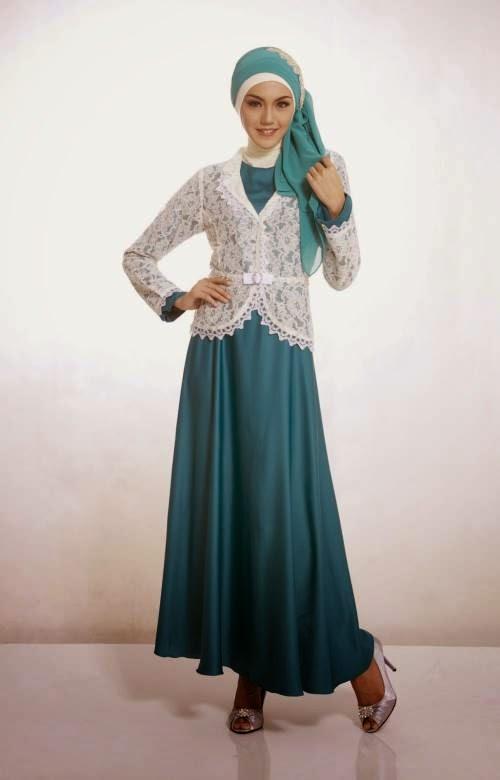 Model Baju Muslim Terbaru di tahun 2015