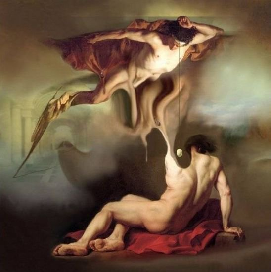 Ettore Aldo Del Vigo 1952 | Italian Surrealist painter