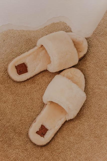 Moda in Pelle Softie Cream Sheepskin Slippers