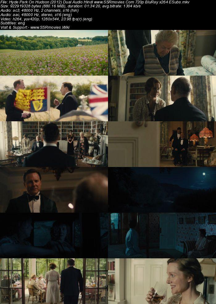 Hyde Park On Hudson (2012) Dual Audio Hindi 480p BluRay 300MB ESubs Movie Download