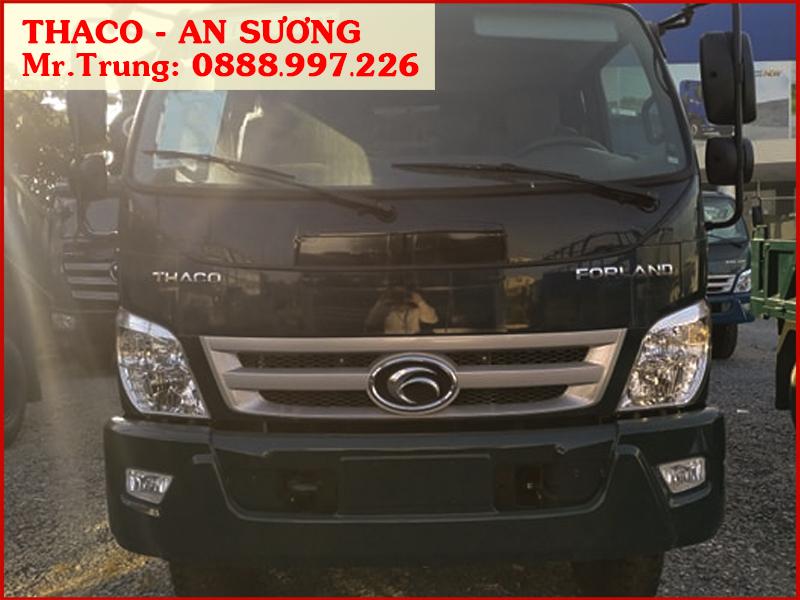 Xe ben Forland Thaco FD850.E4 cầu dầu 2 cấp, tải 7,8 tấn / 6,5 khối | Giá xe FD850