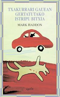Txakurrari gauean gertatutako istripu bitxia, Mark Haddon