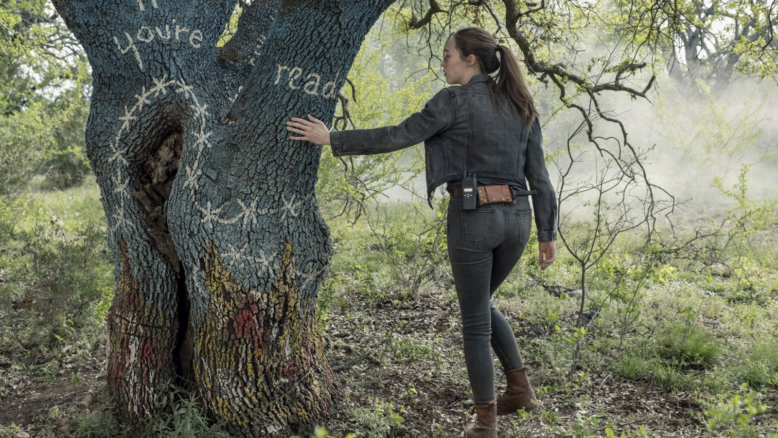 Alicia en el episodio 5x09 de Fear The Walking Dead