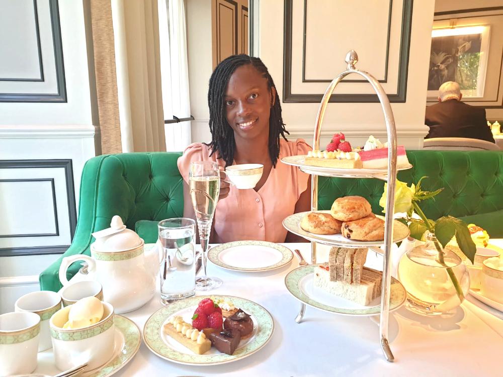 Park room afternoon tea - JW Marriott Hotel Grosvenor House