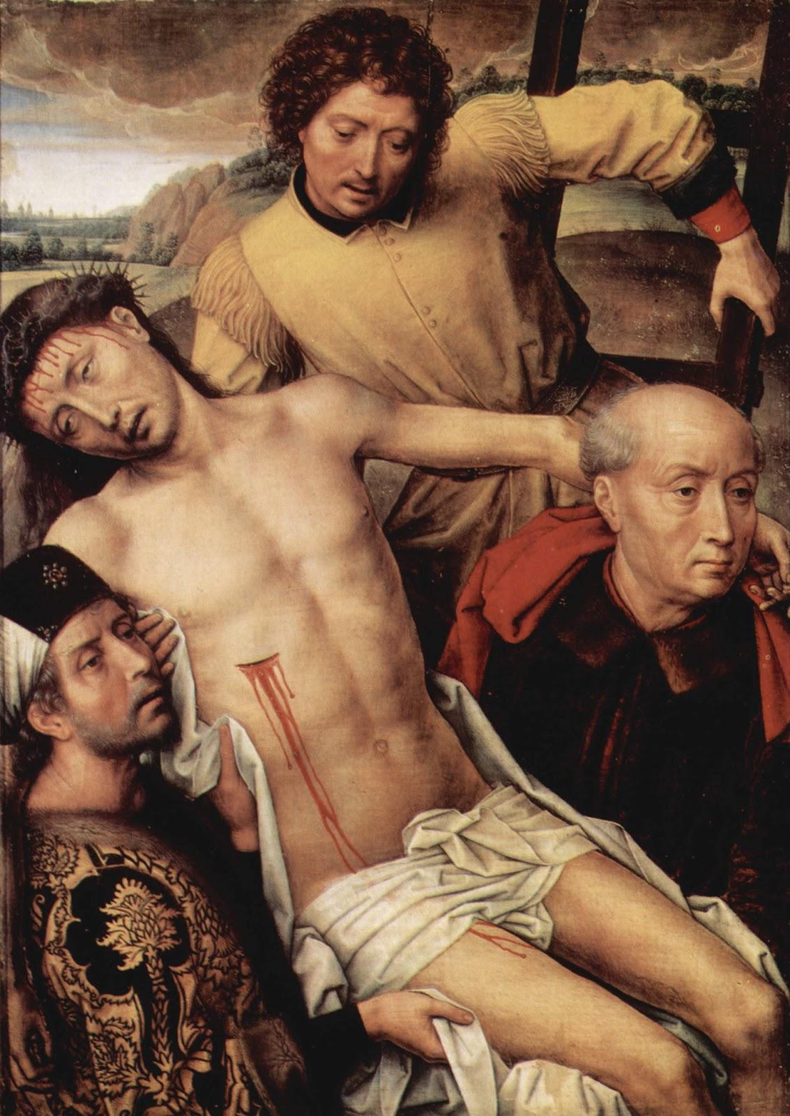 Hans Memling, Descendimiento (Capilla Real de Granada).