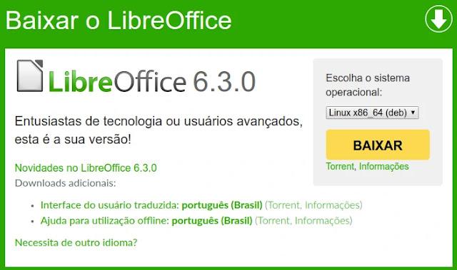 libreoffice-office-planilha-documento-apresentação-slide-deb