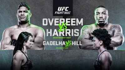 UFC Figth Night 172 Overeem vs. Harris 5/16/20 Full show online on Watch UFC