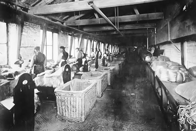 Sorting Shop, Cleator Flax Mill, C1900