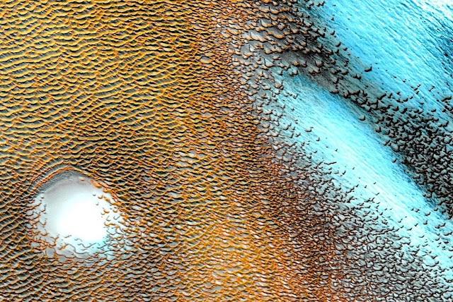 Εκπληκτικά βελτιωμένη εικόνα του Άρη από τη NASA