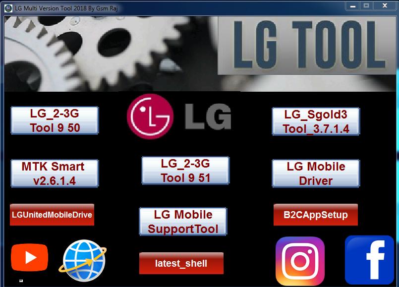 LG Multi Version Tool Latest Update Setup 2018 - Gsm 1x